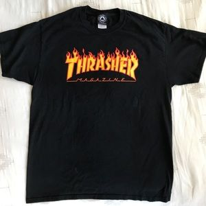 Thrasher Magazine graphic skate tee